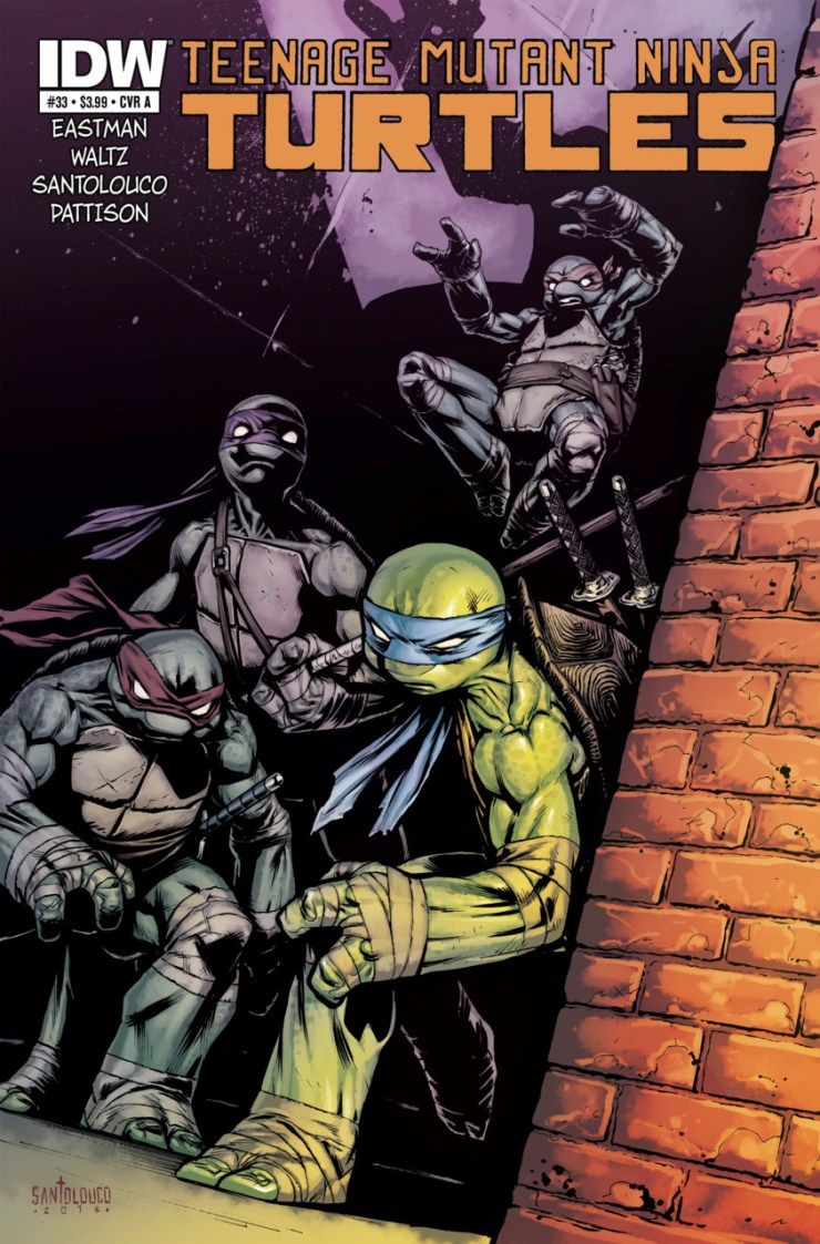 Is It Good? Teenage Mutant Ninja Turtles #33 Review
