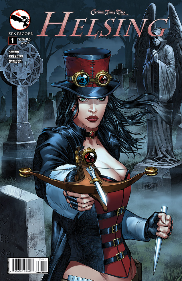 Is It Good? Grimm Fairy Tales Presents Helsing #1 Review