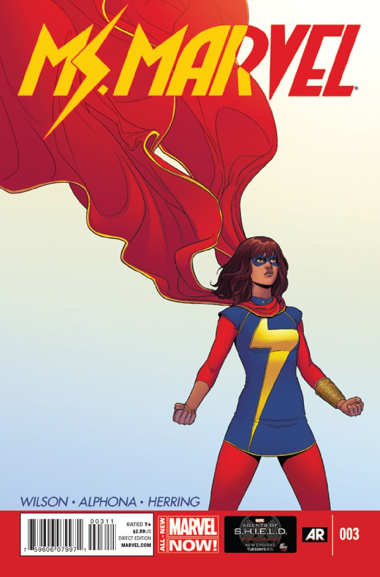 Hopefully this week's issue of Ms. Marvel will be where we finally get to see our new super-powered heroine in real action for the first time. Is it good?