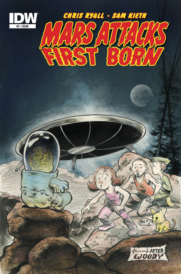 Is It Good? Mars Attacks: First Born #1 Review