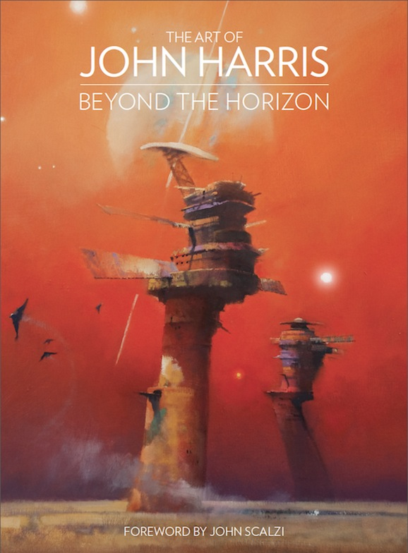 When it comes to art books there are two types of buyers: those who are fans of the artist and those who want something to get lost in. Considering you'll probably purchase this if you're familiar with John Harris anyway I'll speak to those looking to get lost. You will.