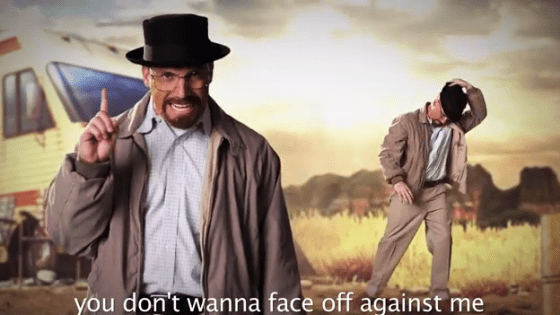 Epic Rap Battles of History Season 3: Rick Grimes vs. Walter White Review