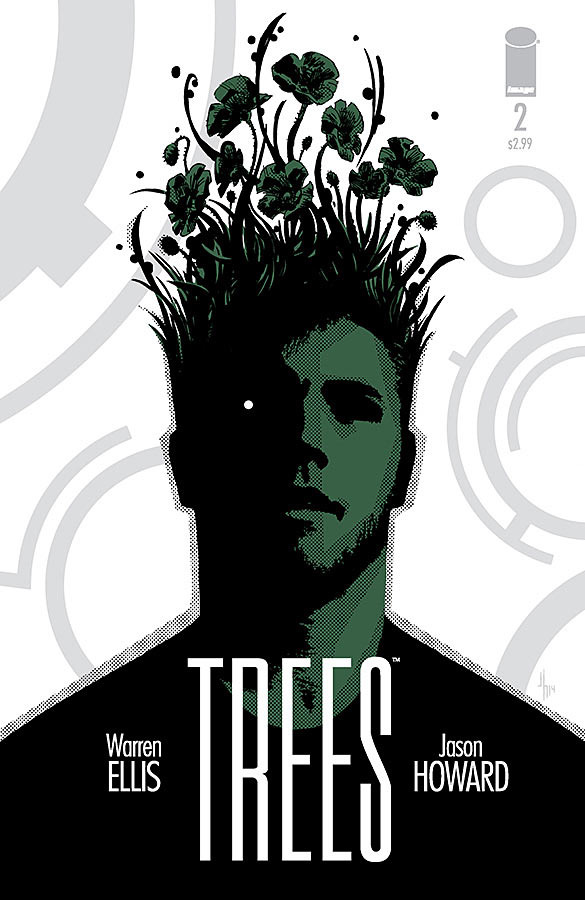 """Written by Warren Ellis and illustrated by Jason Howard, Trees #2 continues to explore what happens when a bunch of huge, alien tower structures known as """"Trees"""" land on earth and proceed to do absolutely nothing… or so it seems. Is it good?"""
