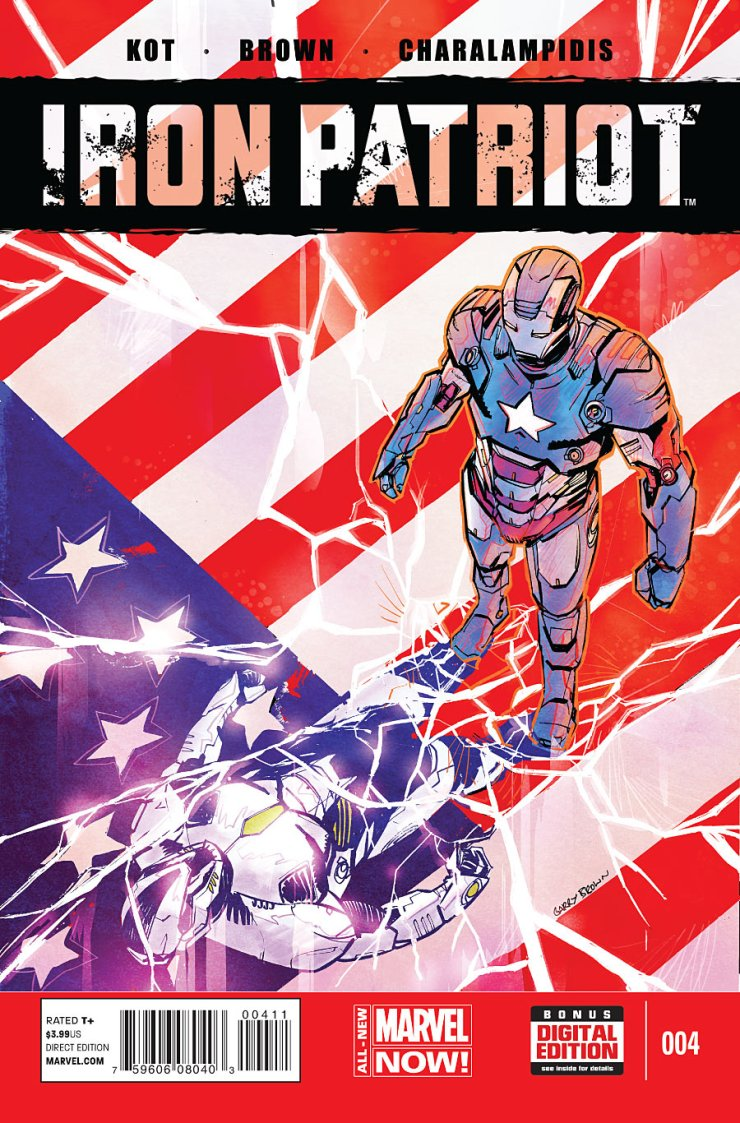Is It Good? Iron Patriot #4 Review