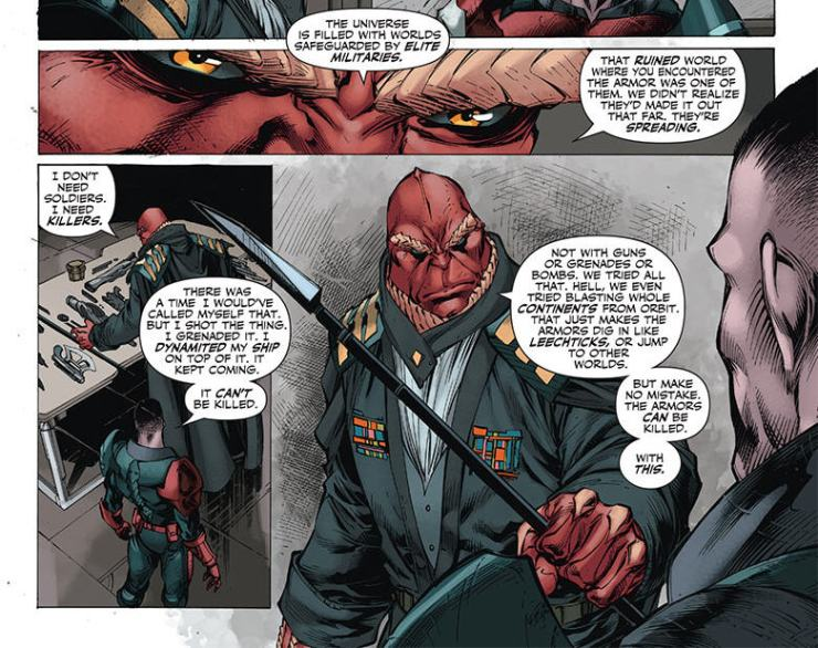 Is It Good? X-O Manowar #27 Review