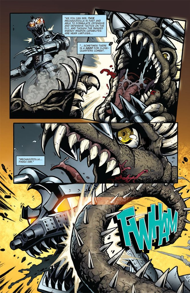 godzilla-rulers-of-earth-14-mechagodzilla-vs-anguirus