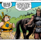 Groo is a moronic barbarian who doesn't know his own strength and is easily duped. Conan is a smart barbarian who knows his own strength and is clever enough to outsmart any bad guy. Now pit them against each other and you'll probably have your money on Conan kicking Groo's ass, but then, maybe you'd be wrong? Is it good?