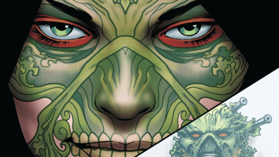 This month's issue of Swamp Thing promises to wrap up a long building arc that has been going on in the background since February.  I'm really excited to see where this goes.  Is it good?