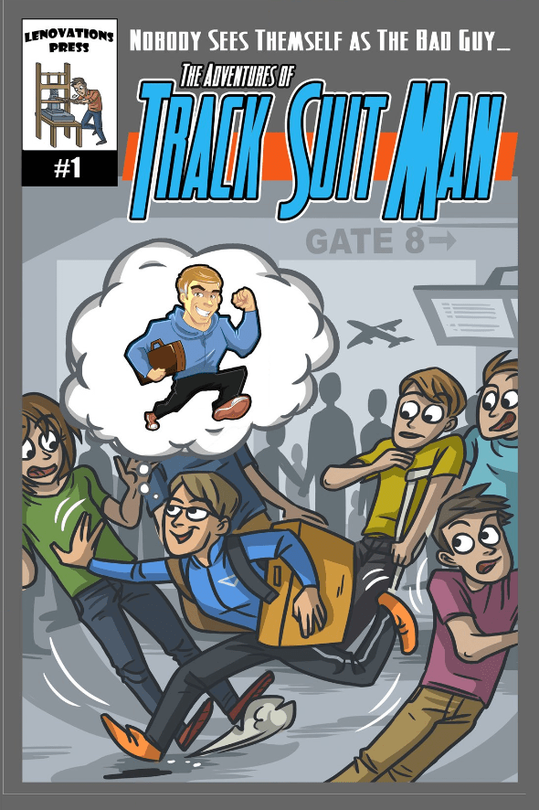 Is It Good? The Adventures of Track Suit Man #1 Review