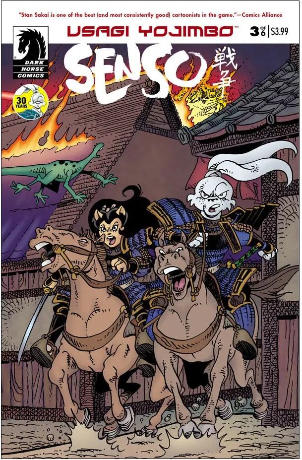 Is It Good? Usagi Yojimbo: Senso #3 Review