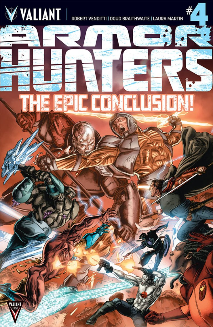 Is It Good? Armor Hunters #4 Review
