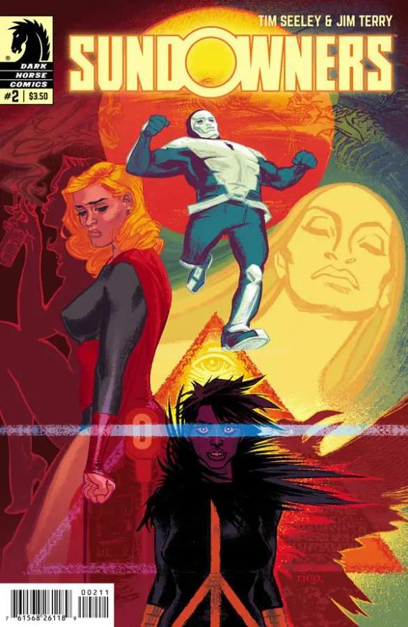 Tim Seeley Discusses Latest Comic, 'Sundowners'