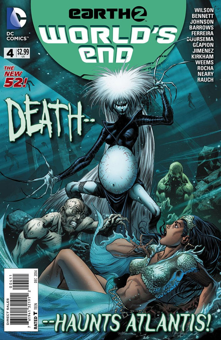 Is It Good? Earth 2: World's End #4 Review