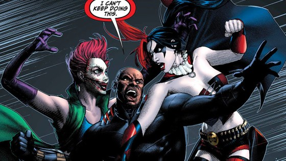 The female squad members have been quibbling throughout the entire mission and now both Harley Quinn and Joker's Daughter have finally reached their breaking point. What happens when the other members can no longer hold them back? Is it good?