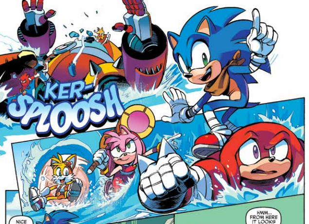 Is It Good? Sonic Boom #1 Review