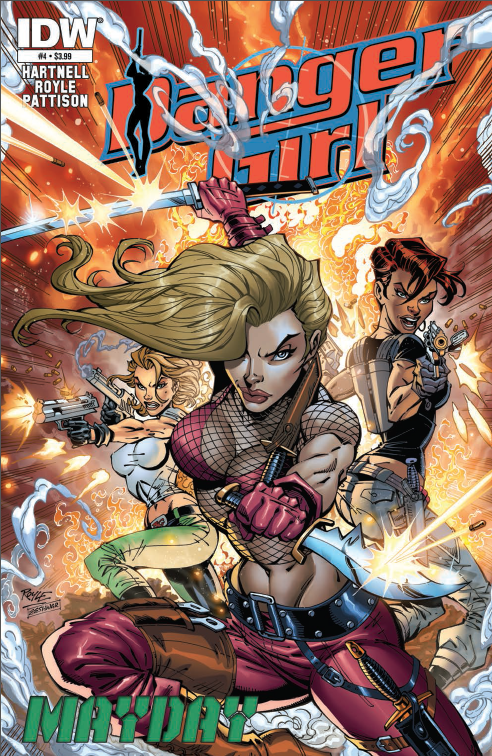 Is It Good? Danger Girl May Day #4 Review
