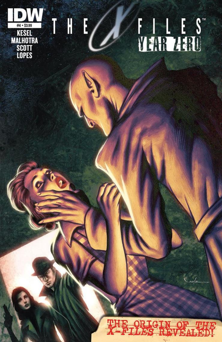 The past and the present continue to come to together in X-Files: Year Zero #4. Is it good?