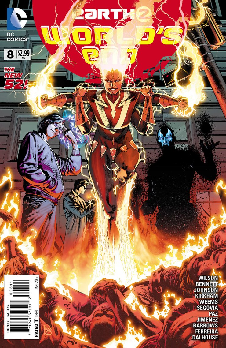 Is It Good? Earth 2: World's End #8 Review
