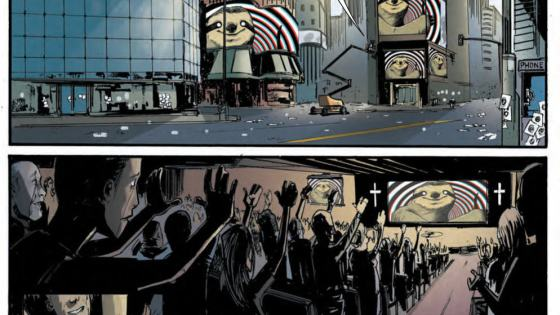 Much like a real life apocalypse might play out, BOOM! Studios' Memetic is a quick three issue mini all about society crumbling under the power of a meme. What a way to go, considering memes seem to drive culture more than anything these days, but is it good?