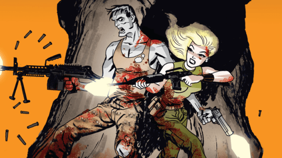 It's time once again for some more military zombie action.  The last issue was good but needed some more polish in areas and focus on the characters.