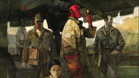 An all-star creative team brings us a series set during Hellboy's first foray into working for the Bureau of Paranormal Research and Development. Is it good?