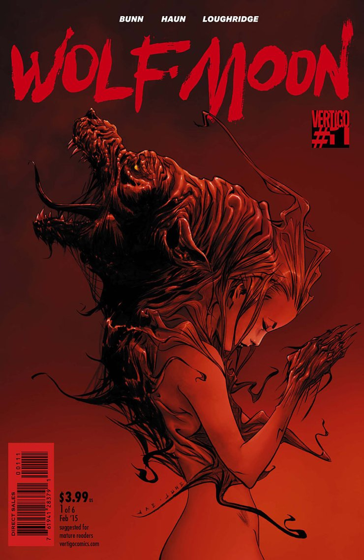 We've got another new Vertigo series on our hands! This time it's Wolf Moon, written by Cullen Bunn and drawn by Jeremy Haun. I'm all for another cool mini-series from Vertigo, especially after how good The Kitchen was, so let's check it out and see what we got. Is it good?