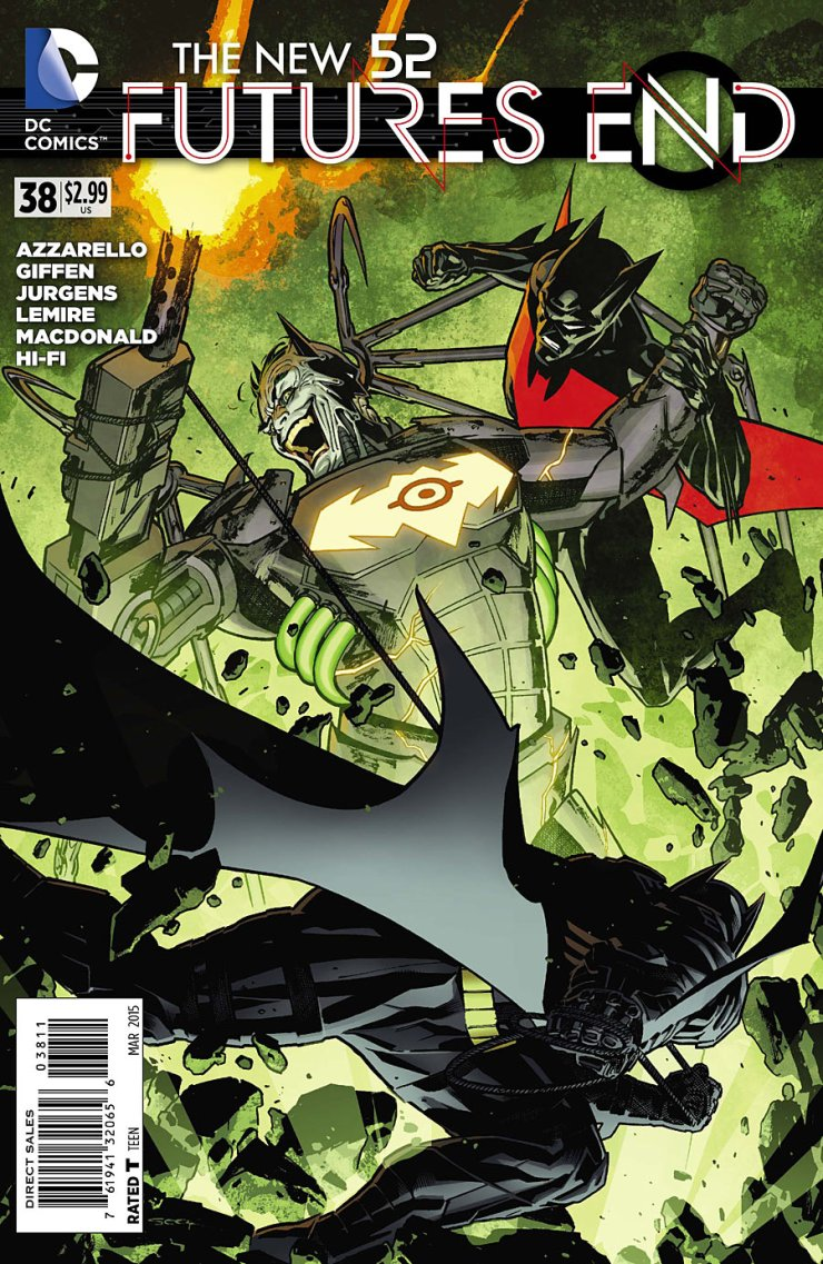 Last issue was a rather slow and almost uneventful break in the action that I found to be rather disappointing. However, Futures End has proven to be a series full of ups and downs throughout its life, so maybe things will quickly turn around in this issue. Let's find out together!