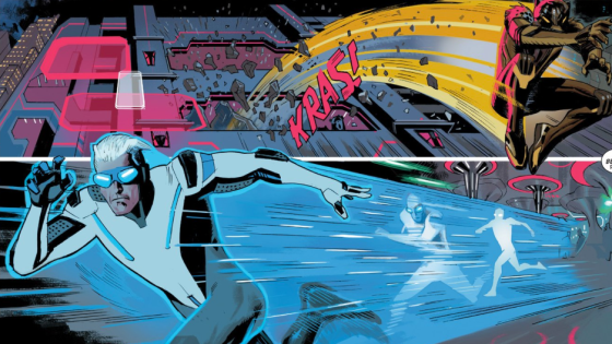 A story that spins out of Axis is here this week and it involves the New Men, Quicksilver and Scarlet Witch's new origin, as well as the High Evolutionary. Lots of balls in the air here, which makes you wonder, is it good?