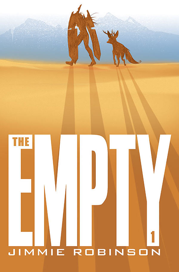 Despite its fanciful appearance, The Empty is a curious tale by Jimmie Robinson (Bomb Queen, Five Weapons) about a world which has met an apocalyptic fate and it's up to two heroines from different regions to save it. In a fantastical world filled with strange creatures and terrain, there's really no telling what they may encounter or what Robinson will cook up. So is it good?