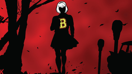 Does anyone else remember when this series came out?  Back in October 2014, so many months ago?  One day Chilling Adventures of Sabrina was there and the next it was gone without a trace.