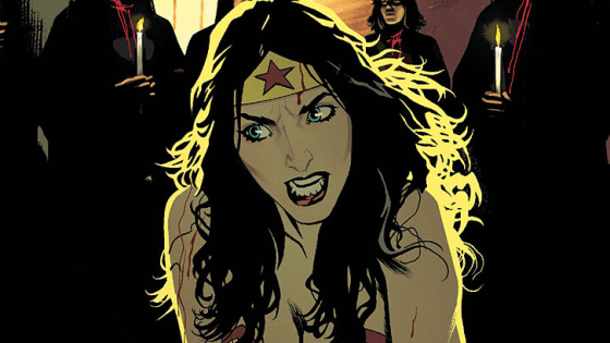 With its original series on the rocks, Convergence: Wonder Woman #1 hopes to breathe some fresh air into the character and add the title to the list of truly-well written cross-over Convergence issues. The issue depicts Diana, Etta, and Trevor from Crisis of Infinite Worlds take on cults and vampires as society attempts to deal with life under the dome.