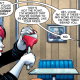 It was rather disappointing that there wasn't a regular issue of Harley Quinn during February (at least there was a Valentine's Day special), since I felt a rather noticeable void in the level of the fun that month.  However, the issue has finally arrived and we can have some more fun again.  Is it good?