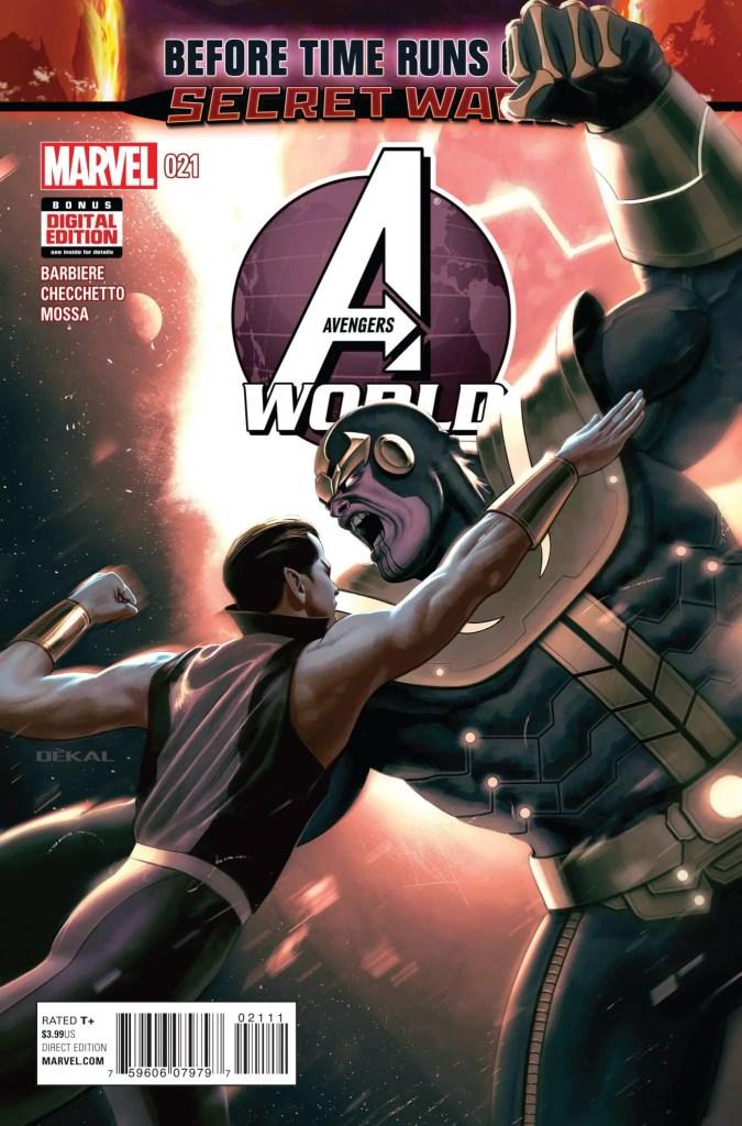 Avengers World #21 cover