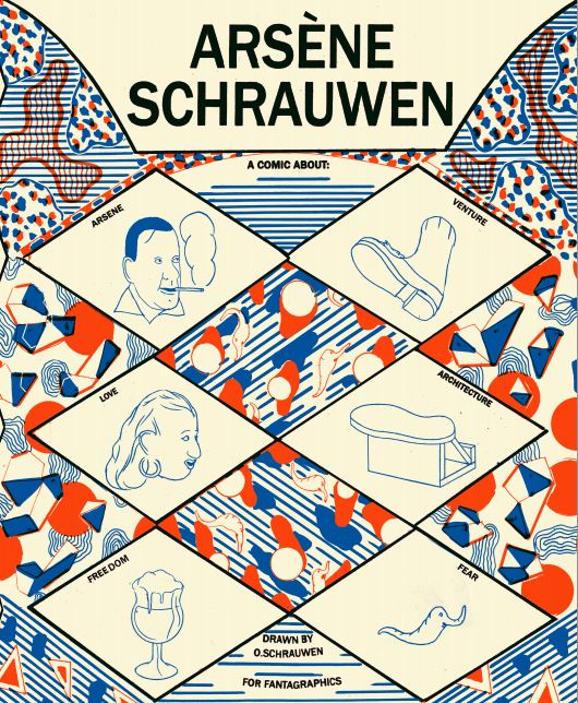 Arsène Schrauwen tells the tale of Belgian cartoonist Olivier Schrauwen's titular grandfather as he goes on a very strange trip to an island. The story involves a forbidden love affair, themes of isolation and madness, and a truly nightmarish scene involving were-leopards. But is it good?
