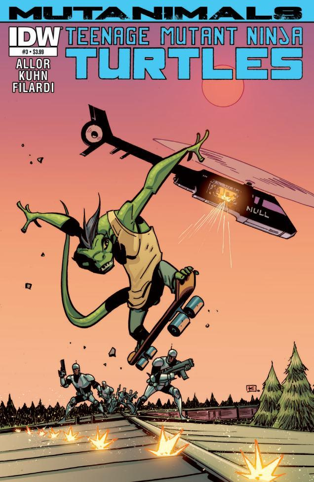 Is It Good? Teenage Mutant Ninja Turtles: Mutanimals #3 Review