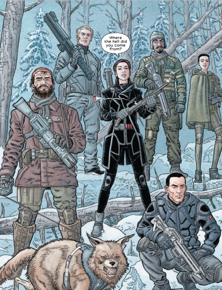 Is It Good? We Stand On Guard #1 Review