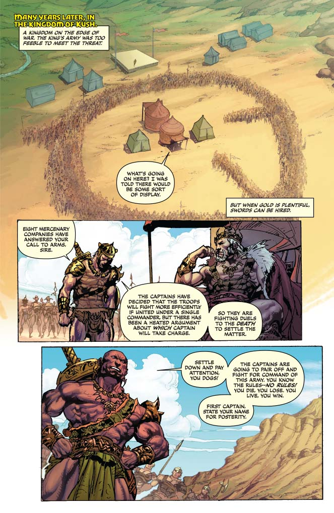 Is It Good? Red Sonja / Conan #1 Review