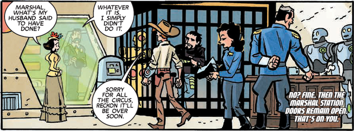 Is It Good? Sparks Nevada, Marshal on Mars #4 Review