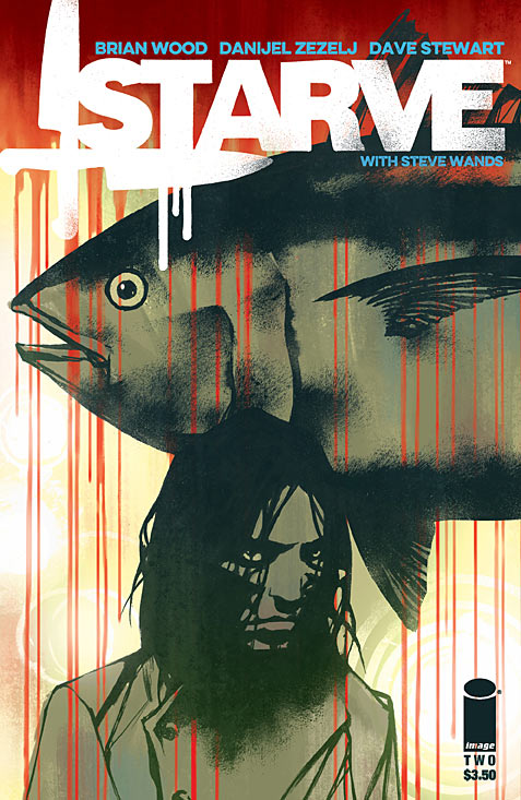 The first issue of Brian Wood's Starve left a lot to be desired. There were areas that needed more work done on, especially in the story and satire department. Hopefully now that the comic is past the first issue and setting things up, it can really start taking off! Is it good?