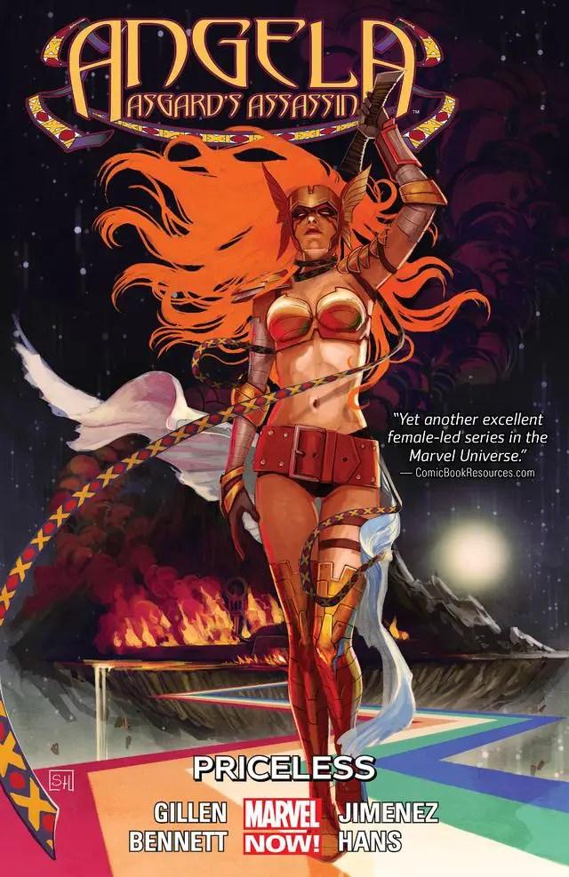 Angela  Asgard's Assassin Vol. 1 Cover