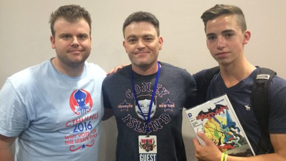 A Chat with Batman Writer Scott Snyder at Boston Comic Con 2015
