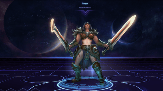 Heroes of the Storm: The Rise of Sonya, The Barbarian