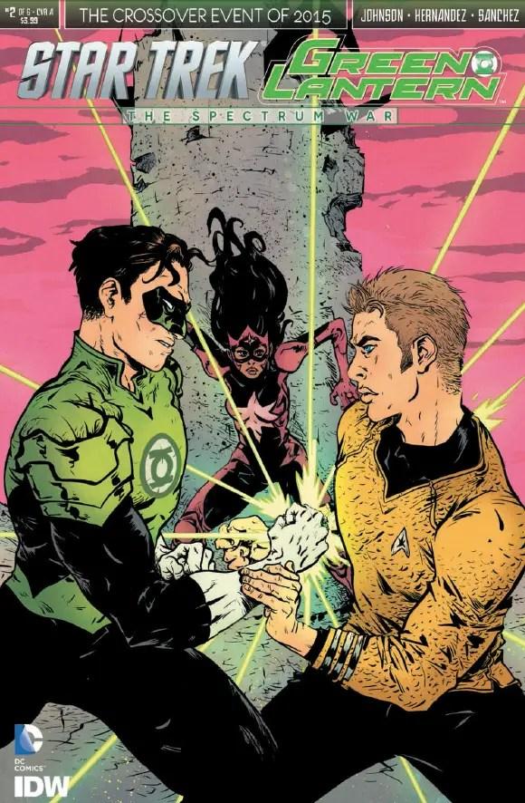 Is It Good? Star Trek/Green Lantern: The Spectrum War #2 Review
