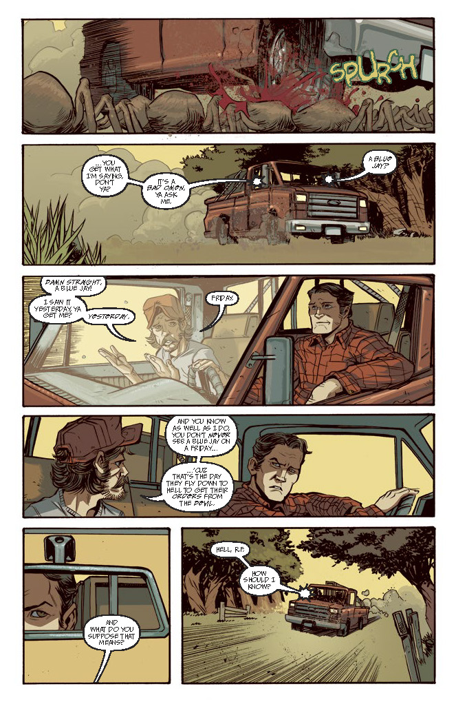 Blood Feud #1 Review
