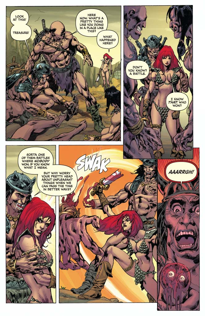 Is It Good? Red Sonja / Conan #2 Review