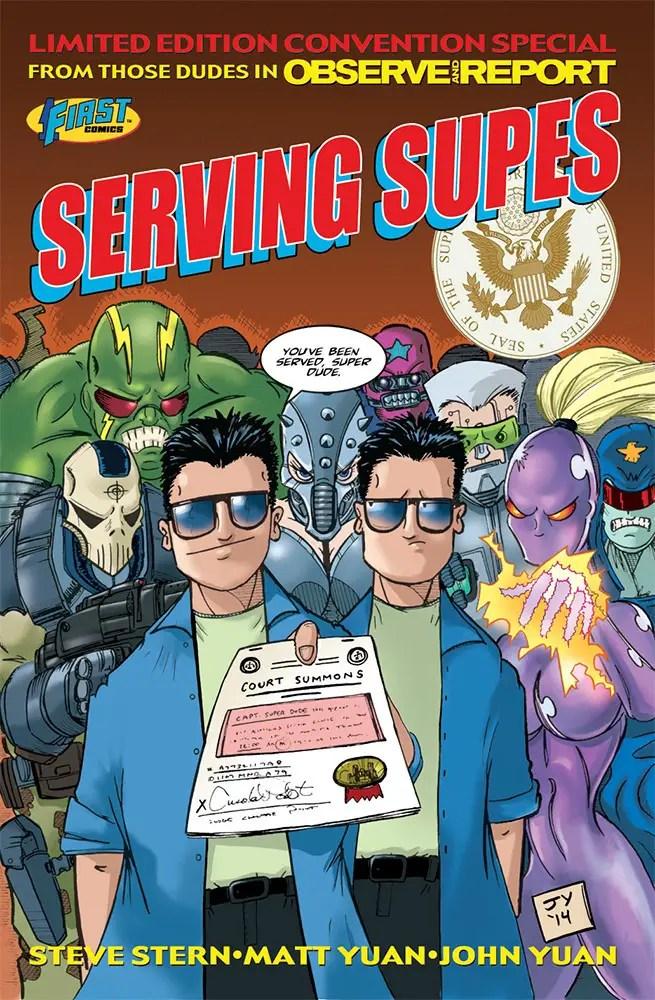 Indie Comic Corner: Serving Supes #1 Review
