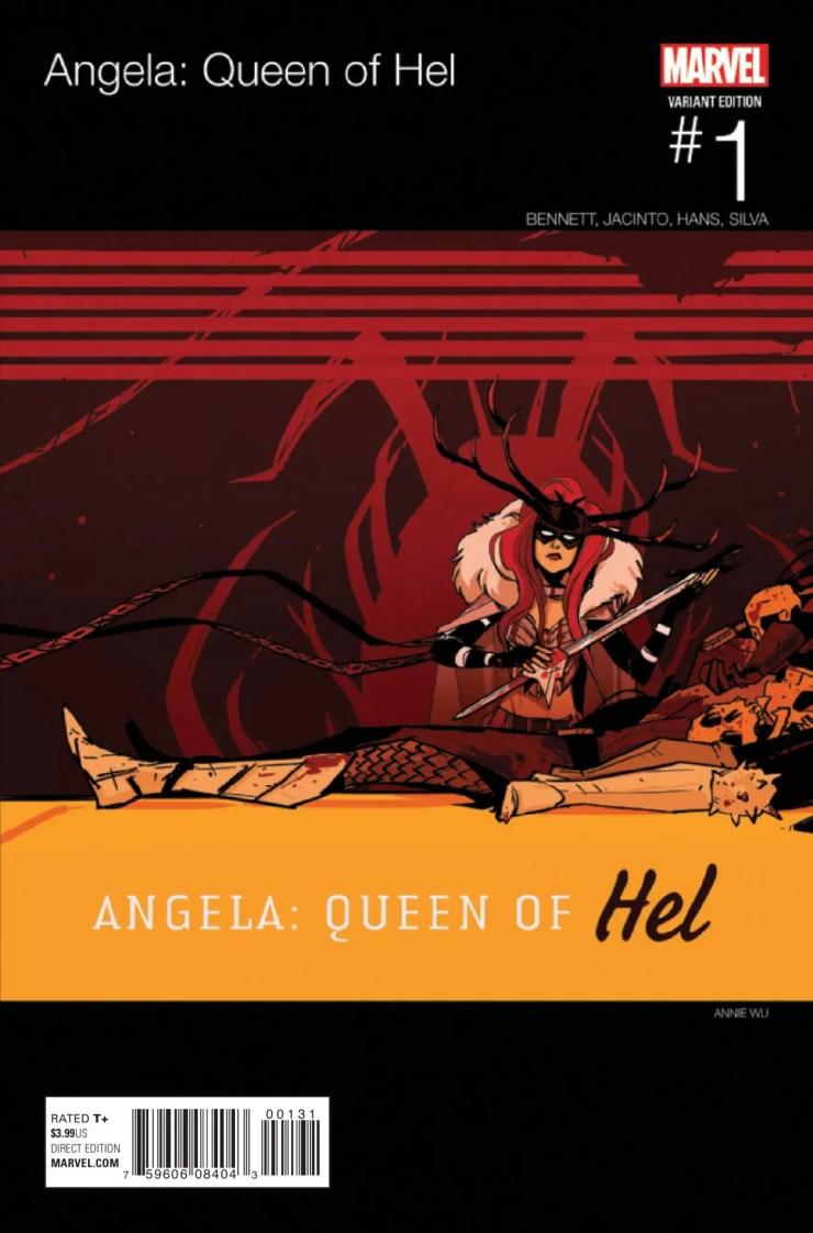 Angela: Queen Of Hel #1 Review