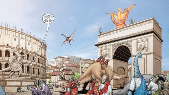 Have you ever wondered what would happen if dinosaurs ruled the Roman Empire? Well, you're gonna find out!