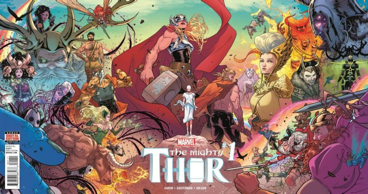 Marvel Preview: The Mighty Thor #1