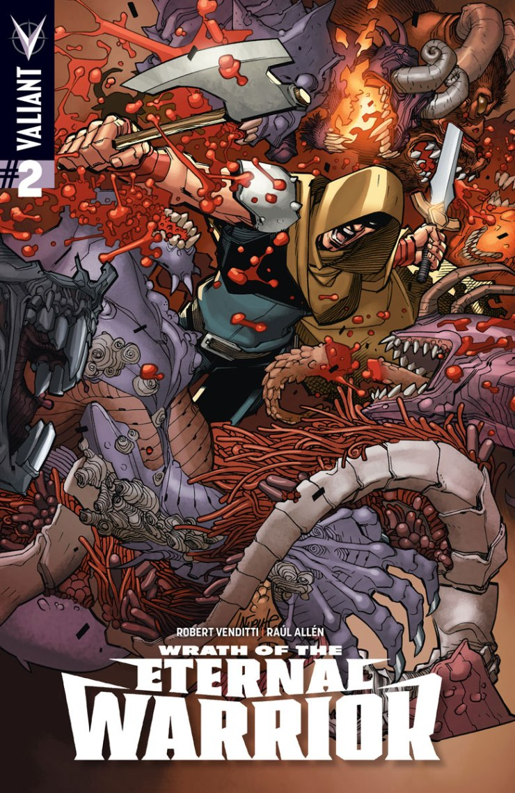Valiant Preview: Wrath of the Eternal Warrior #2